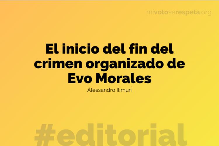 Evo Morales y el crimen organizado